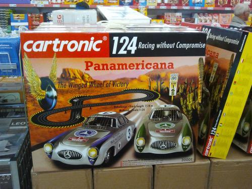 Cartronic 124 Panamericana Autorennbahn Mercedes 300SL 1:24