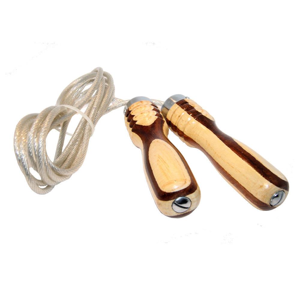 JEETA Profi Springseil aus Stahl mit Kugellager, optional + Gewicht für 11,95 € bzw. 12,95 € [Fitworld24]