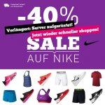 VERLÄNGERT: 40% auf alle Nike Artikel + versandkostenfrei bei [mysportswear]