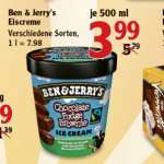 [GLOBUS MAINTAL] Ben & Jerryx27s Eiscreme 500ml für 3,99€