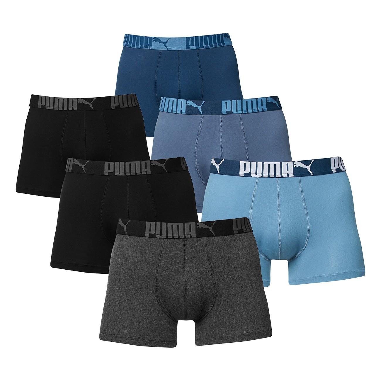 Puma Herren Boxershort 6 Stück für 26,95€in 4 Größen verfügbar bei mybodywear