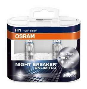 [Amazon.de] OSRAM NIGHT BREAKER UNLIMITED H1 - 13% günstiger
