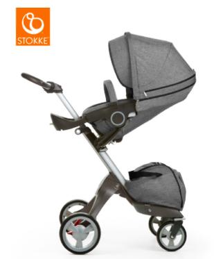 STOKKE Kinderwagen Xplory Black Melange für 636,99€ inkl. VSK bei [babymarkt] statt ca. 854€