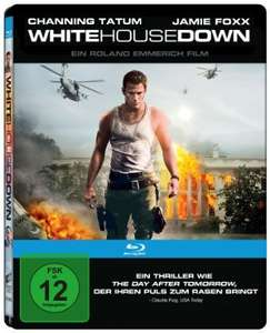White House Down Steelbook Edition Bluray für 9,97€ @Amazon.de Blitzangebote