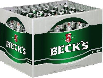 Bis Samstag bei Rewe: 2 Kisten Becks für 20€
