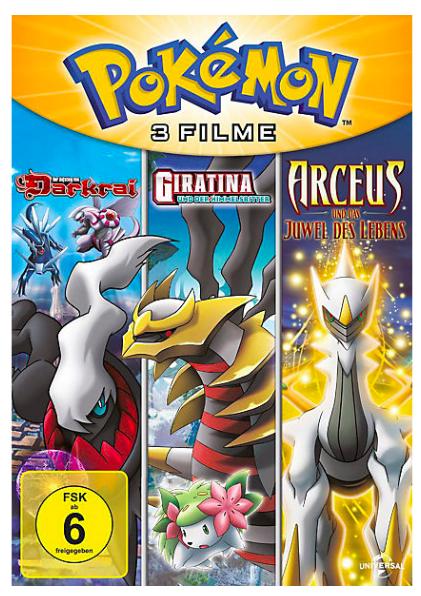 Pokémon Filme 1 - 6 (DVD) für 24,93€ inkl. VSK bei [MyToys] statt ca. 34€
