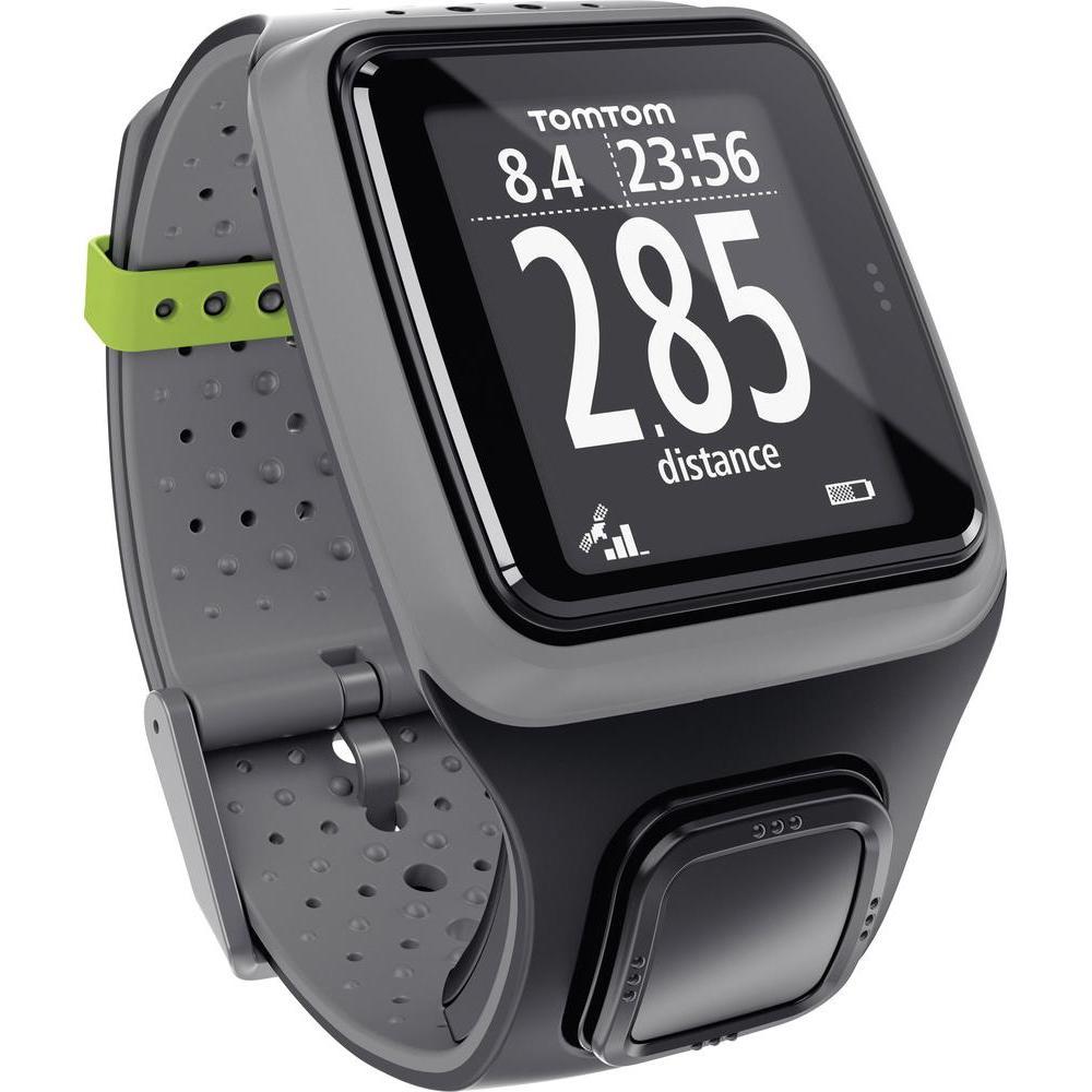 TomTom GPS Sportuhr Runner für 73,45€ in dunkelgrau bei Conrad refurbished