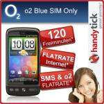 HTC Desire mit dem o2 Blue 100 Tarif Nur 99€ Zuzahlung bei Ebay handytick_de
