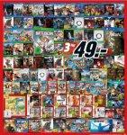 3 Spiele für 49€ für (Wii U) (3DS) (PS4) (Xbox) bei [Mediamarkt] - u.a. Nintendo Selects, Mittelerde: Mordors Schatte GOTY, Fallout 4, Metal Gear Solid: Phantom Pain, Diablo 3, Star Fox Zero u.a.