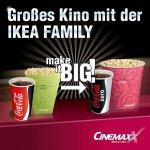 [Augsburg] Cinemaxx + Ikea Family: sparen beim Popcornkauf statt 11,20€ nur 9,40€