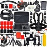 Basis Zubehör Bundle Set für Action Kamera sj4000 sj5000 und GOPRO HERO Cams für 19,99€ mit Prime