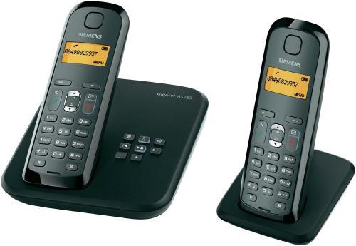 Gigaset AS285 Duo Schnurlostelefon mit zusätzlichem Mobilteil (Integrierter Anrufbeantworter, beleuchtetes Grafik-Display) für 33,93 inkl. Versand, sonst ca. 50 EUR