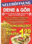 [Offline & lokal in Düsseldorf] Dönertasche für 1,99 (vom 14.1. - 14.2.)