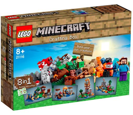 20% auf Lego bei [windeln.de] Minecraft 21116 - The Crafting Box für 33,99€ statt ca. 45€
