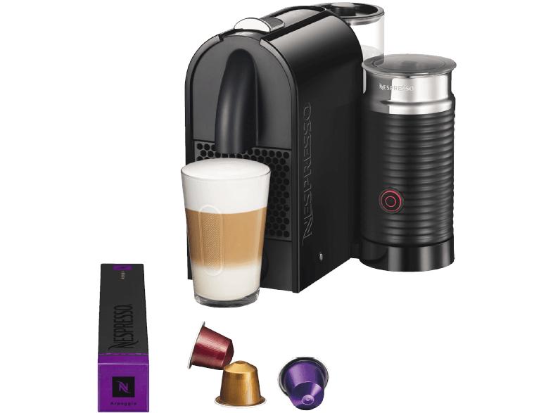 DeLonghi Nespresso Umilk EN 210.BAE Pure Black für 124€ + 50€Nespresso Gutschein