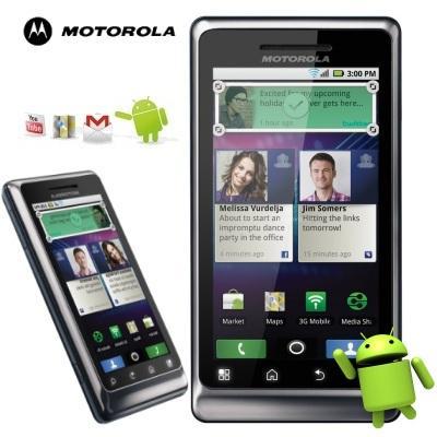 Motorola Milestone 2 - Android Smartphone mit QWERTZ- Tastatur @ 159€