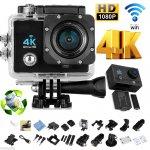 4k bzw. HD 1920x1060=60 FPS Action Cam inkl. Zubehör