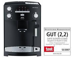 AEG Caffee Silenzio CS 5000 Kaffeevollautomat