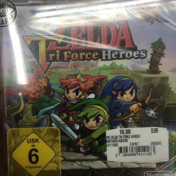 The Legend of Zelda: Tri Force Heroes (3DS) [Lokal MM Köln Arcaden]