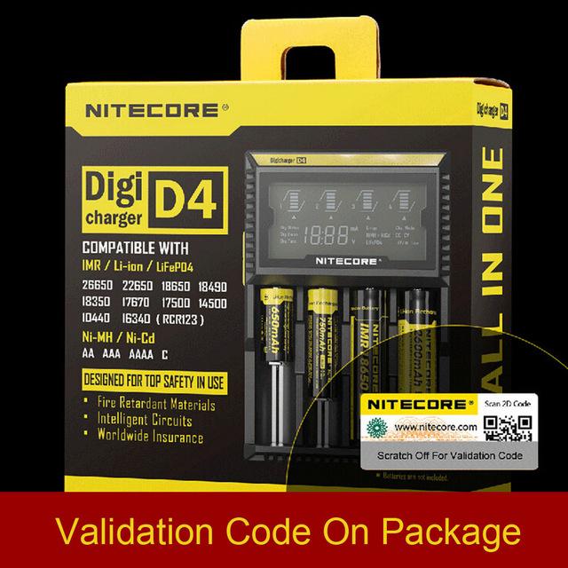 NiteCore Digicharger D4 Universalladegrät [Aliexpress Neuaccount]