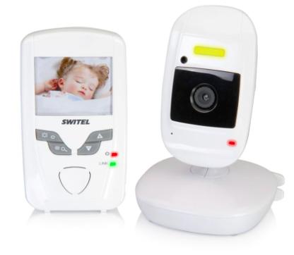 Digitales Babyphone von switel digital mit 2,4´´ LCD Farbdisplay für 47,49€ bei [babymarkt] statt ca. 95€