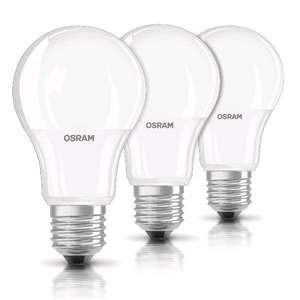 Amazon OSRAM 3 x LED-Lampe E27 BASE Classic A / 9W - 60 Watt