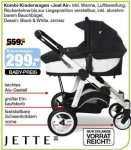 "[SEGMÜLLER BABYLAND] Jette Kombi-Kinderwagen ""Joel-Air"" für 299€ (Idealo:444,60€)"