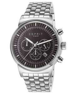 Esprit Herren-Armbanduhr Woodward Chronograph für 81,96€ bei Amazon.it