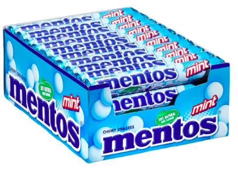 Mentos Mint 40 x 38 g Rollen für 10,98€ bei [Amazon Prime] statt rund 20€