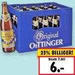 Oettinger Weizenbiere - alle Sorten für nur 6,00 € bei [Kaufland]