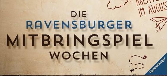 [Spiele-Offensive] 3 Ravensburger Spiele zum Preis von 2