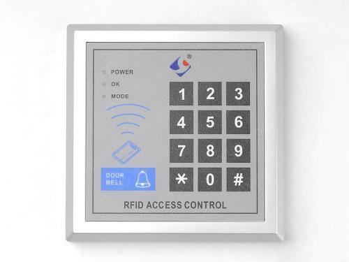 RFID Türöffner / Codeschloss / Zugangskontrolle inkl. Transponder