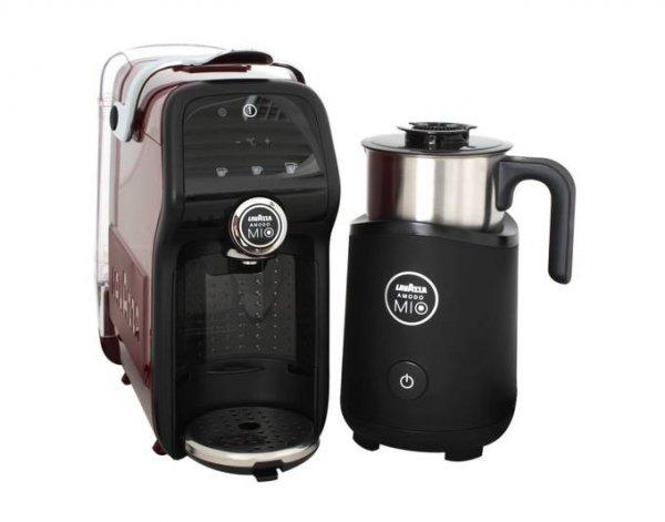 Lavazza LM6000 A Modo Mio Magia, Kaffeeautomat & Milchaufschäumer, Rot