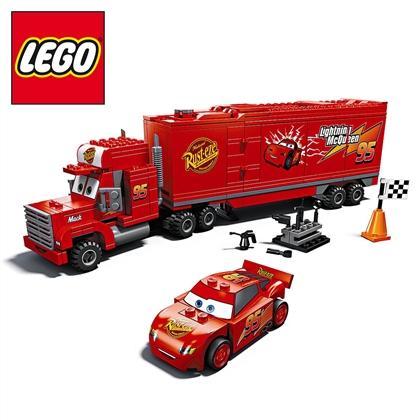 Cars-Spielzeug bei Rossmann (z.B. Lego-Autos 4,99€, Lego 8486 Mack für 24,99€, Metall-Autos 5,99€, Plüsch-Lightning 14,99€)