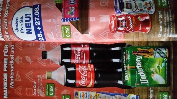 Cherry und vanilla coke [aldi nord] am 26 und 27.8