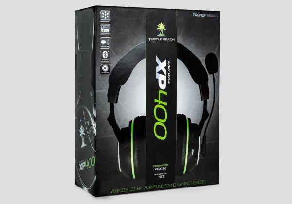 "Gaming Headset schnurlos ""Turtle Beach Ear Force XP 400 "" - [PS3, Xbox 360] eng.Shop@ebay"