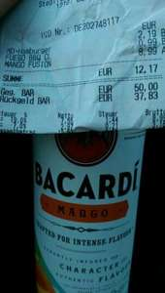 Bacardi Mango 8,99€ @Penny