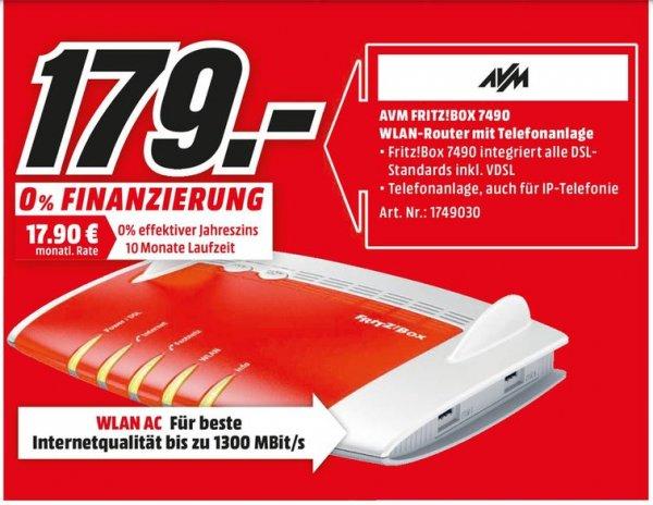[Lokal Mediamarkt Lippstadt und Gütersloh] AVM Fritz!Box 7490
