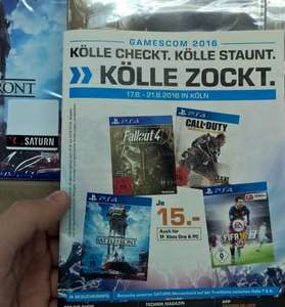 Gamescom Angebote Saturn Köln