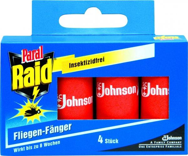 [GLOBUS] Raid Fliegen-Fänger 4er-Pack Freebie