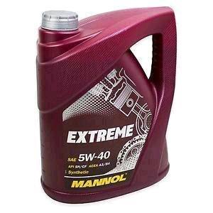 Motoröl 5w40 5 Liter 13,90€ inkl. Versand! Viele Freigaben