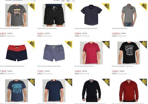 (Sportsdirect) Kleidung in Übergröße