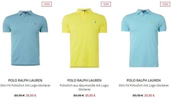 Polo Ralph Lauren Poloshirt bei Peek&Cloppenburg für 39,95€ inkl. Versand