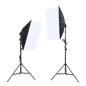 Softbox Set inkl. Lampe für 39,99€ [Amazon Marktplatz]