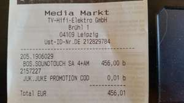 BOSE SoundTouch AM3 bei Media Markt Leipzig Höfe am Brühl