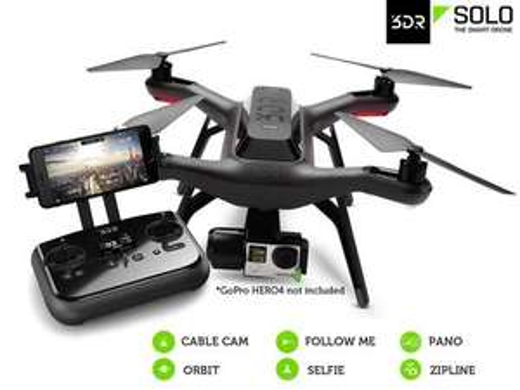 3DR Solo Drohne + Gimbal UVP € 1778,00 63% Rabatt Jetzt! € 649,95
