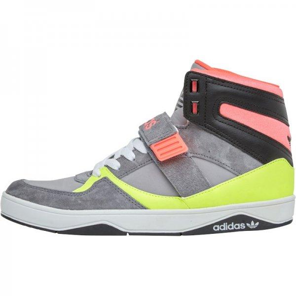(M+M) Wieder da, noch günstiger: für € 20,44 / Adidas Originals Damen Space Diver 2. Hi-s AluminiumLeadElectricity Sneakers Grau