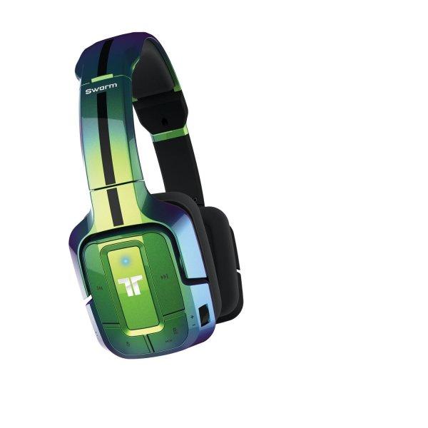 Tritton Swarm Wireless Mobile Surround Headset, grün - [PC, Mac, Mobile] für  38,89 / schwarz für 39,24€