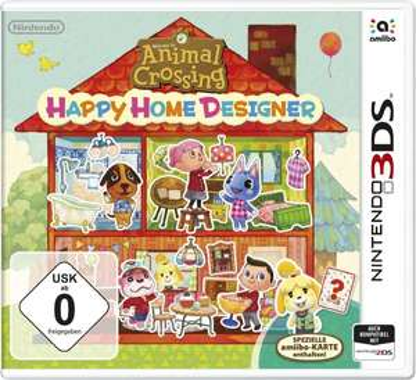 Nintendo 2DS/3DS - Animal Crossing: Happy Home Designer ab €12,73 [@Redcoon.de]