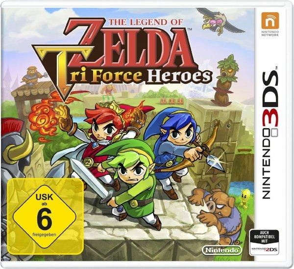 Nintendo 2DS/3DS - The Legend of Zelda: TriForce Heroes ab €14,69 [@Redcoon.de]